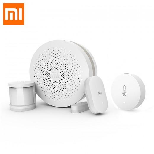 Xiaomi Mi Smart Home Suit Wireless Switch Door Windows Sensor Body Sensor Multi-funciton Gateway Kits -White