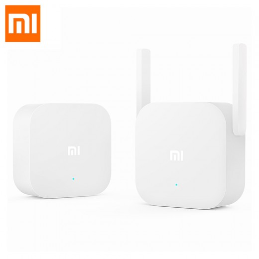 Original Xiaomi 300Mbps 2.4G WiFi Home Plug Wireless Power Line ...