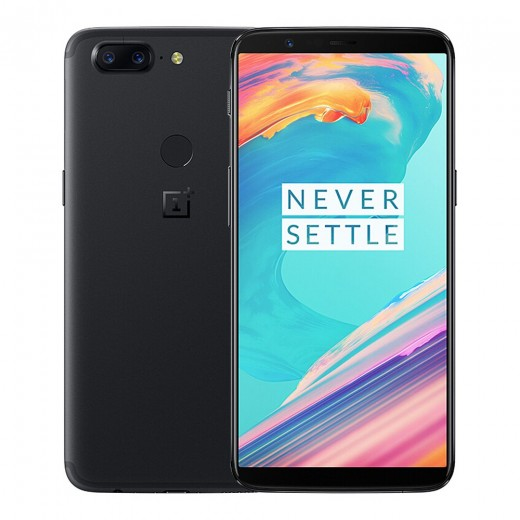 Oneplus 5T 6.01 Inch 18:9 FHD 4G LTE Smartphone 20.0MP Qualcomm Snapdragon 835 - Black
