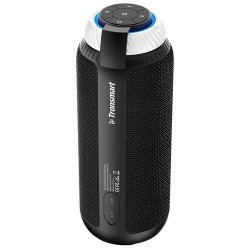 Tronsmart Element T6 25W Portable Bluetooth Speaker with 360 Degree Stereo Sound and Built-in Microphone - Black