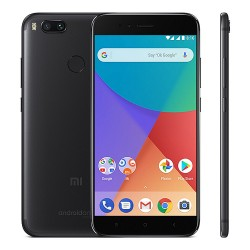 [Official International Version] Xiaomi Mi A1 5.5 Inch 4G LTE Snapdragon 625 Octa Core 4GB 32GB Android One - Black