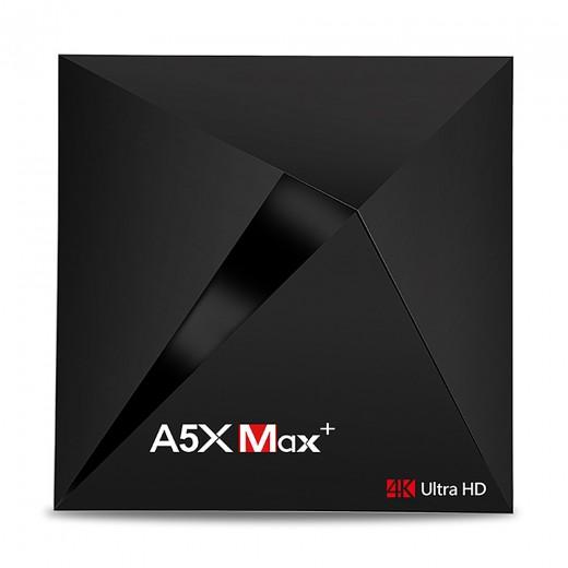 A5X MAX KODI 18.0 Android 7.1.1 4GB/32GB RK3328 4K HDR TV Box 802.11AC WIFI Bluetooth 1000M LAN VP9 USB3.0