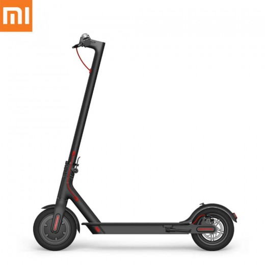 Original Xiaomi Folding Electric Scooter Kinetic Energy Recovery System Cruise Control Function - Black