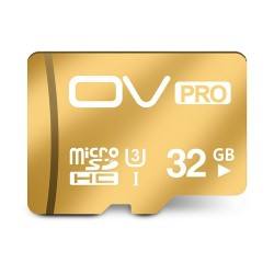 OV UHS-I U3 32GB Micro SD Gold