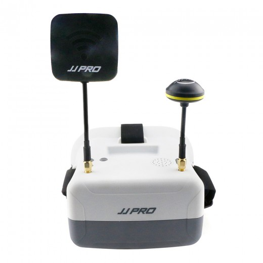 JJRC JJPRO F02 5.8G 40CH Raceband FPV Goggles 4.3 Inch Video Headset With Dual Antennas