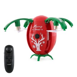 JJRC H66 X-mas Egg 720P WIFI FPV Selfie Drone with Gravity Sensor Transmitter Altitude Hold Mode RC Quadcopter RTF