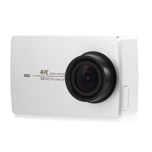 YI 4K Action Camera 2 2.19 Retina Screen Ambarella A9SE75 Sony IMX377 12MP White