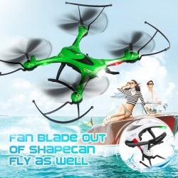 JJRC H31 Waterproof Headless Mode One Key Return 2.4G 4CH 6Axis RC Quadcopter RTF - Green