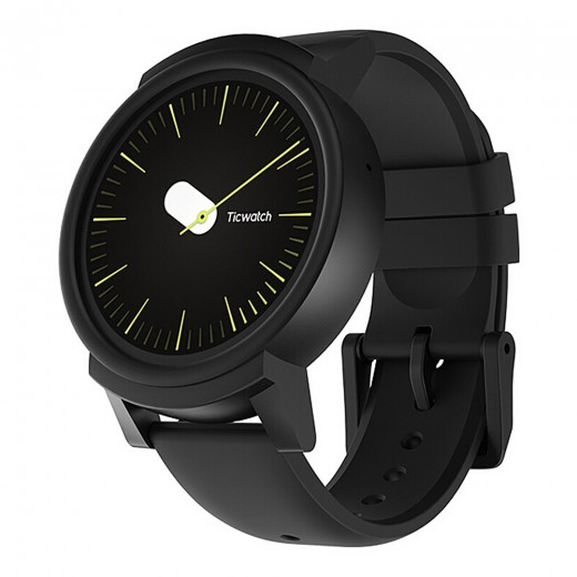 Ticwatch E Sportuhr Smartwatch - Shadow
