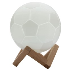 Geekbes 3D Touch Control World Cup Souvenirs Night Lights - White