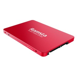Ramsta S600 480GB Drive Hard Disk - Red