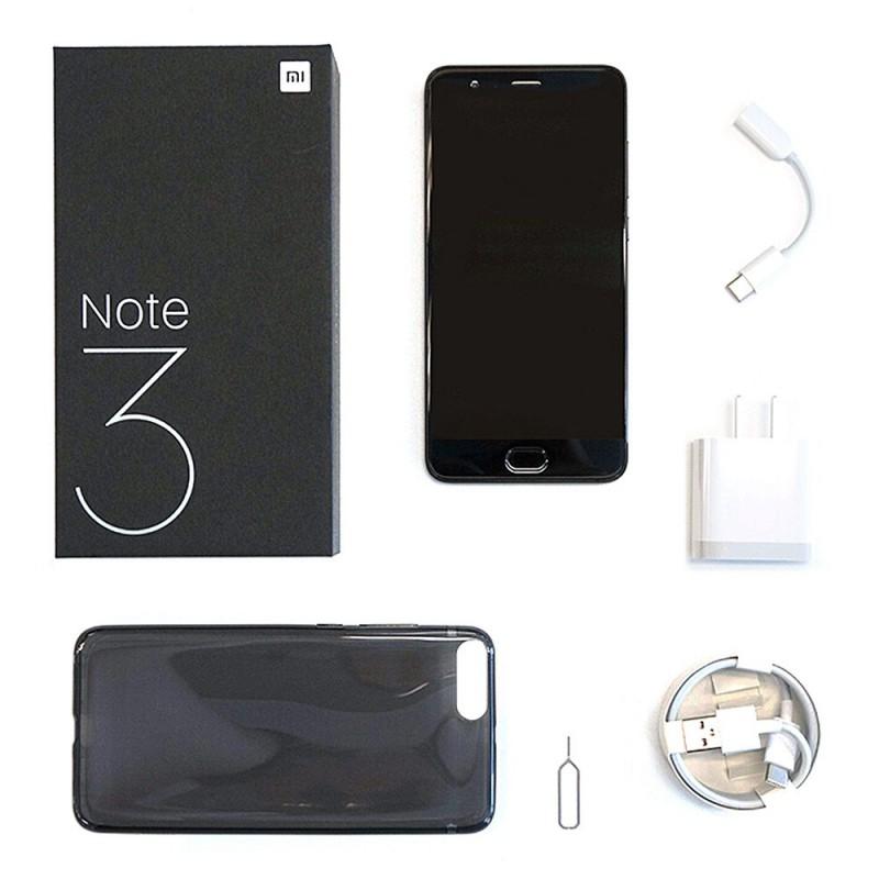 Xiaomi Note 3 6gb 128gb Smartphone Black China Version Geekmaxi Com