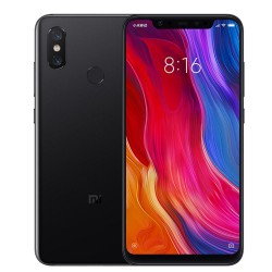 Xiaomi Mi8 Smartphone 6GB RAM 64/128GB ROM-Black (Global Version)