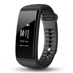 Cubot S1 Bluetooth Heart Rate / Air Pressure/temperature Monitor Smart Bracelet Health Tracker IP67 For IOS/Android