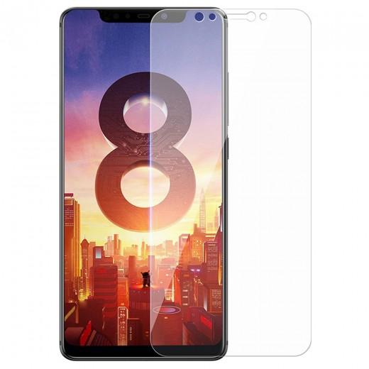 Benks OKR Hartglas-Schutzfolie für Xiaomi Mi8 0,33mm 3D gebogen - transparent