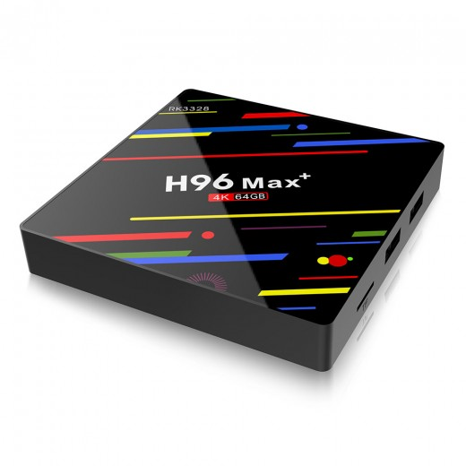 H96 MAX RK3328 Quad-Core 4GB RAM 32GB/ 64GB Android 8.1 TV BOX