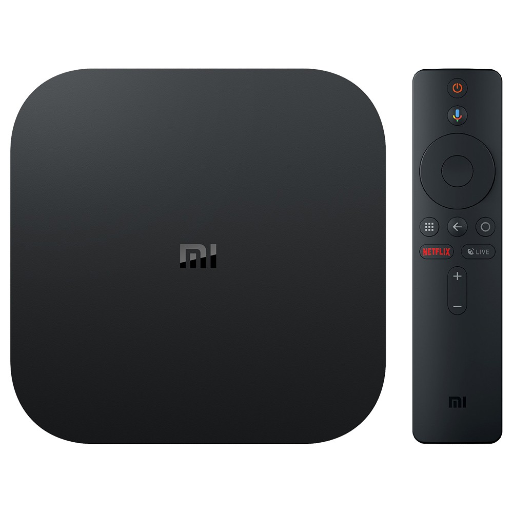 Xiaomi Mi Box S Android 8.1 Netflix 4K TV Box with Google Assistant EU version