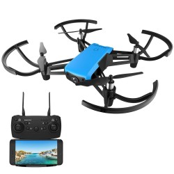 REDPAWZ R020 BLAST RC Drone WIFI FPV 8520 Brushed Motor with HD 720P Wide-angle Camera Altitude Hold RTF - Two Battery
