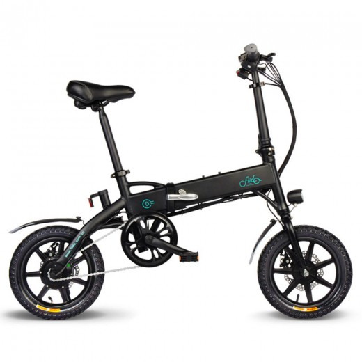 FIIDO D1 Foldable Electric Moped Bike - 7.8Ah Lithium Battery
