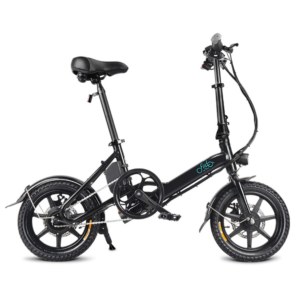 FIIDO D3 Foldable Electric Moped Bike - 7.8Ah Lithium Battery