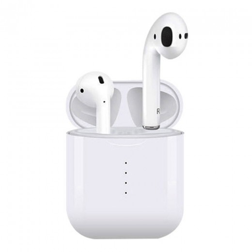 i10 TWS Bluetooth 5.0 TWS Earbuds Wireless Charging 4 Hours Working Time Stereo Sound - White