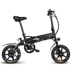 FIIDO D1 Folding Electric Moped Bike -10.4Ah Lithium Battery
