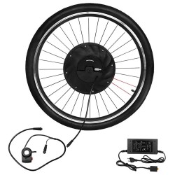 iMortor 26 inches Permanent Magnet DC Motor Bicycle Wheel with App Control Adjustable Speed Mode - EU Plug