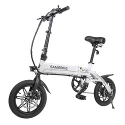 Samebike YINYU14 Smart Folding Bicycle Moped Electric Bike 250W motor 8Ah battery