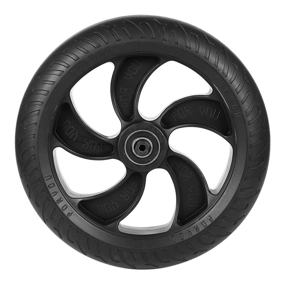 Rear Wheel For KUGOO S1 Folding Electric Scooter - Black