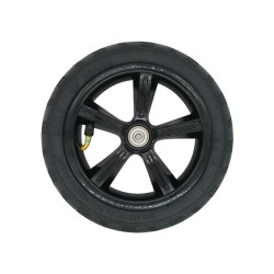 Pneumatic Tire For KUGOO S1 Including Hub - Black