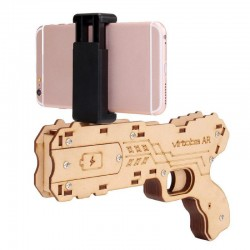 Virtoba AR Gun DIY Bluetooth Augmented Reality AR Toy Gun with Cell Phone Stand Holder for iOS Android