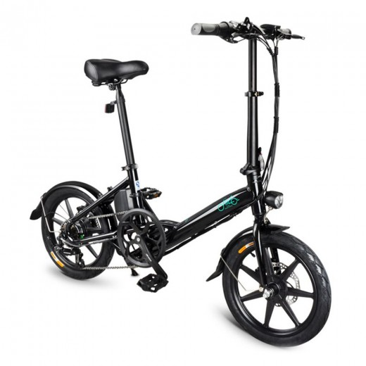 FIIDO D3 Foldable Electric Moped Bike - 10.4Ah Lithium Battery