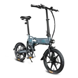 FIIDO D2S Foldable Moped Electric Bike - Variable Speed Version