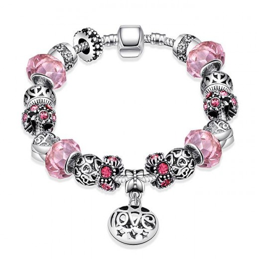 PDRH006-B Colorful Personalized LOVE Bracelets