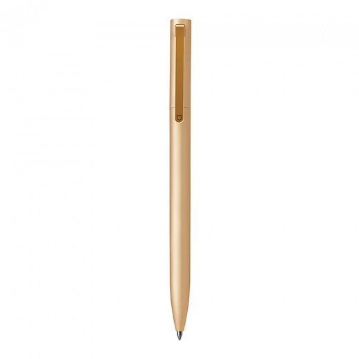 Xiaomi Mijia Metal Signing Pen Aluminum Alloy 180 Degree Rotation PREMEC Refills 0.5mm Rolling Ball Pen