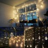 Edison G95 Gypsophila E27 Decorative Bulb Led Copper Wire Bulbs Christmas Decoration Lights - Warm White (EU Plug)