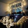 Edison G95 Gypsophila E27 Decorative Bulb Led Copper Wire Bulbs Christmas Decoration Lights - RGB (EU Plug)