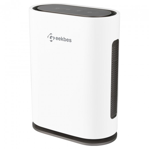 Geekbes GL-FS32 Home Air Purifier With Anion Function And PM Eliminator Cleaner for Allergies - White