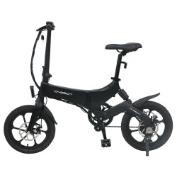 ONEBOT S6 Portable Folding Electric Bike 250W Motor Max 25km/h 6.4Ah Battery