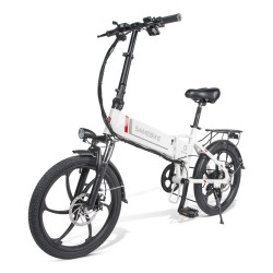 Samebike 20LVXD30 Portable Foldable Smart Electric Moped Bike