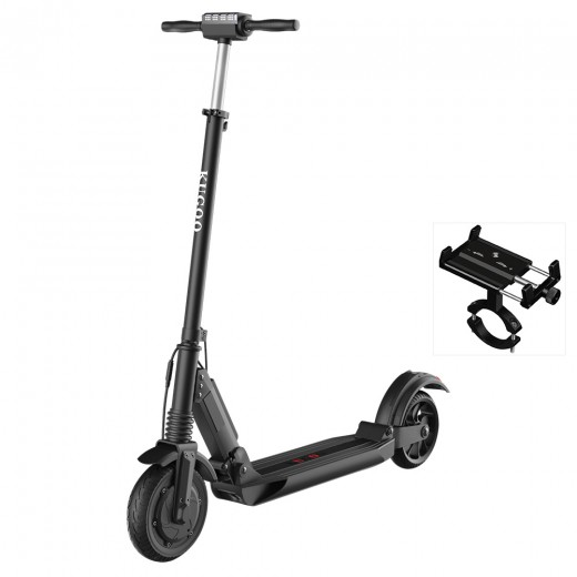 KUGOO S1 LCD Display Foldable Electric Scooter With Bicycle Mobile Phone Fixture