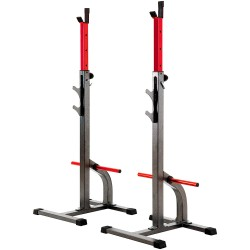 Merax Dumbbell Stand Max Load 250kg Adjustable Width & Height