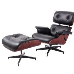 Makibes TY30 Lounge Chair With Pedal Seat Adjustable Rotatable Leather Chair