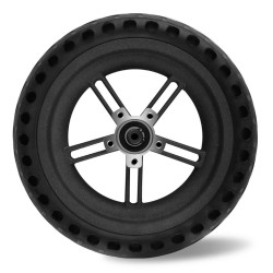 Solid Rubber Rear Wheel For Xiaomi Mijia M365 / M365 Pro Foldable Electric Scooter