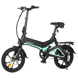 Samebike JG7186 Foldable Electric Moped Bike