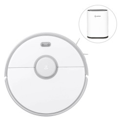 Geekbes GL-FS32 Home Air Purifier With Xiaomi Roborock S5 Max Robot Vacuum Cleaner