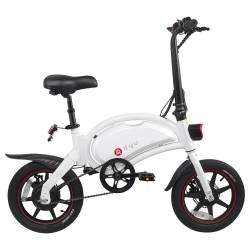 DYU D3+ Foldable Moped Electric Bike - 10AH Lithium Battery